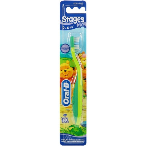 Oral B Stages Winnie Brush 2-4 S4