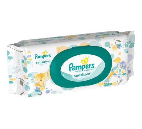 Pampers Wipe Sensitive Fitmt 8/56