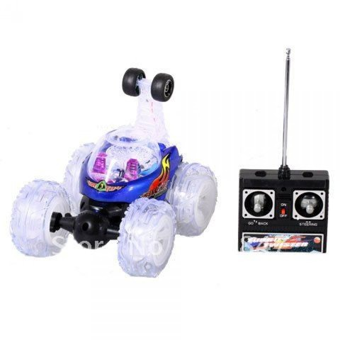 Remote Control Light Up Twister Crazy Car