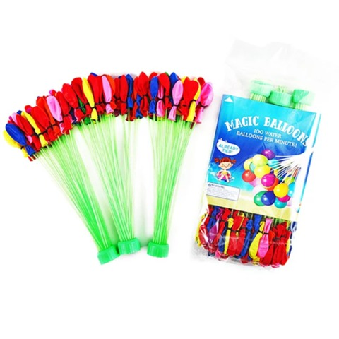 Magic Waters Balloons - 37 Pcs