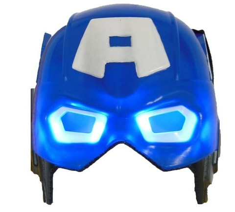 Captain America Mask With Light