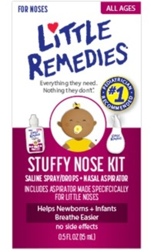 Little Remidies Stuffy Nose Kit