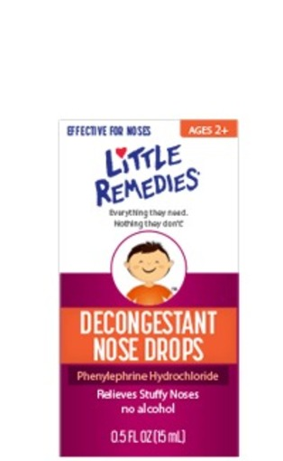 Little Remidies Decongestant Nose Drops