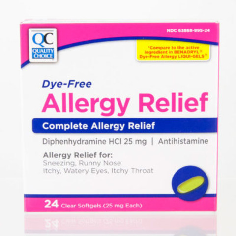 Qc Allergy Relief Capsules 25mg