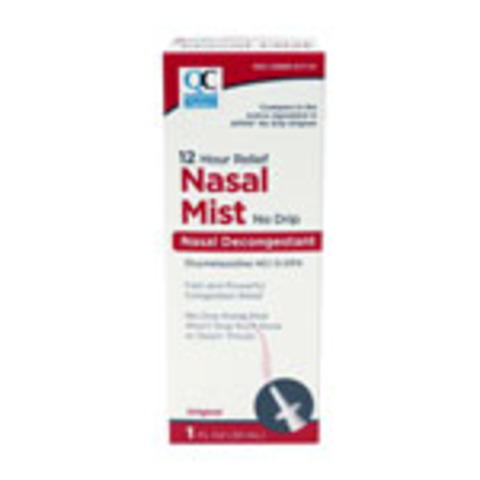 Qc Nasal Mist Congestion Relief