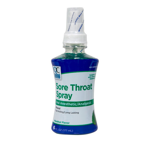 Qc Sore Throat Spray Menthol 177ml