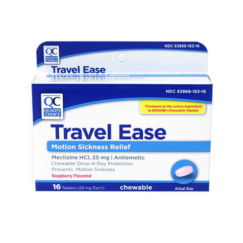 Qc Travel Ease Chew Tabs
