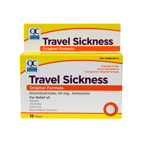 Qc Travel Sickness Tablets