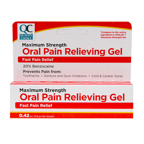 Qc Oral Pain Relieving Gel