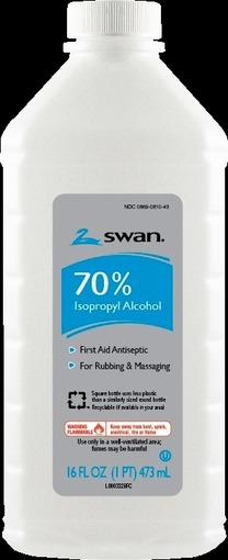 Swan Rubbing Alcohol