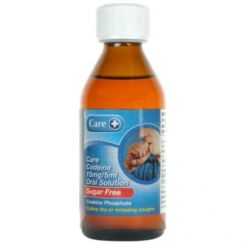 Codeine Oral Solution