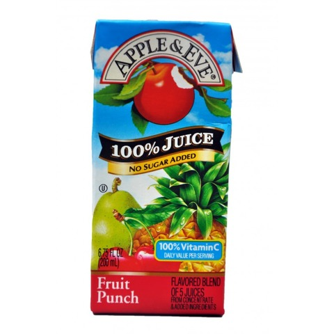 Apple And Eve Fruit Punch