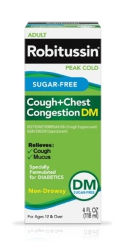 Robitussin Sf Cough + Congestion