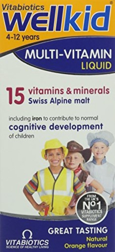 Vitabiotics Wellkid Syrup 4-12yrs