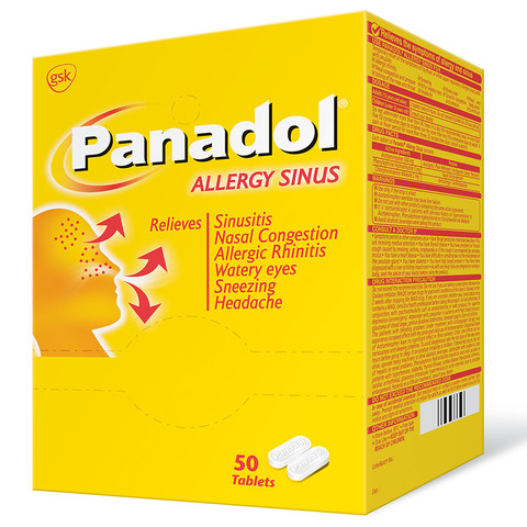 Panadol Allergy Sinus