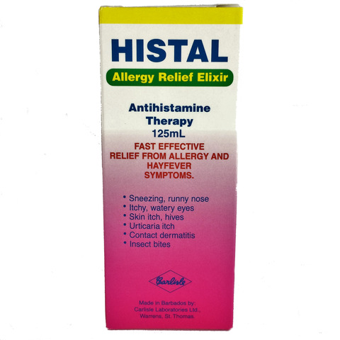 Histal Allergy Relief Elixir 125ml
