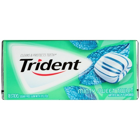 Trident Sweet Mint With Xylitol