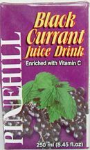 Pinehill Black Currant Juice 250ml