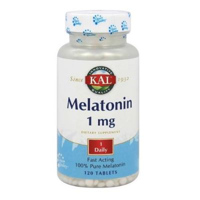 Melatonin 1mg Tablets 120s Kal