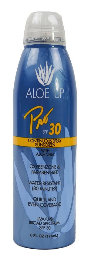 Aloe Up Continuous Spray Spf 30 6 Oz