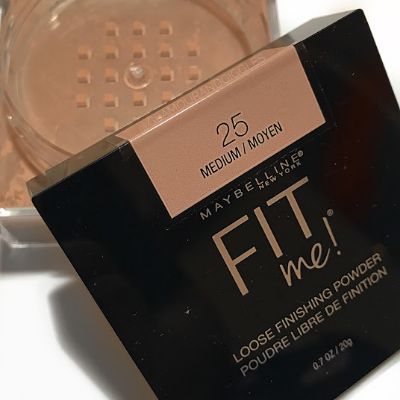 Maybelline Fit Me Loose Powder Medium