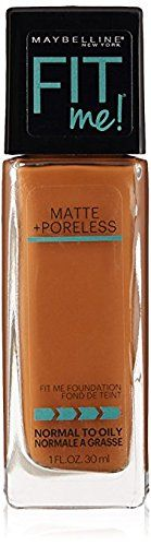 Maybelline Fit Me Matte & Poreless Foundation/deep Golden