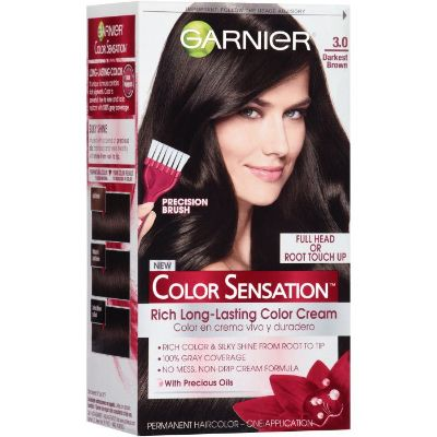 Garnier Color Sensation Darkest Brown