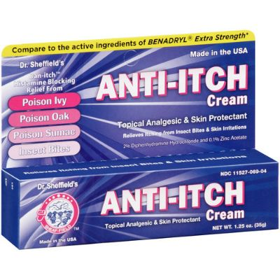 Dr. Sheffield's Anti-itch Cream 35g