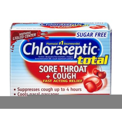 Chloroseptic Sore Throat & Cough Lozenges