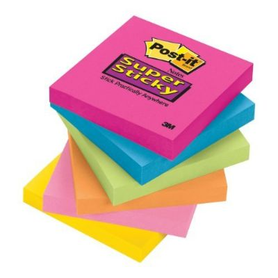 Post-it Sticky Note Brights 3 X 3
