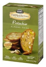 Nonni's Thin Addictives Pistachio Almond Cookies