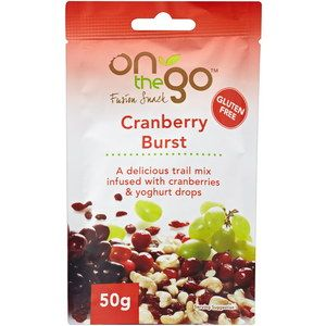 On The Go Fusion Snack - Cranberry Burst