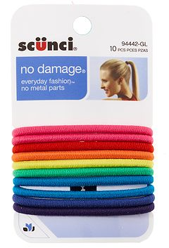 Scunci No Damage Elastic Hair Bands