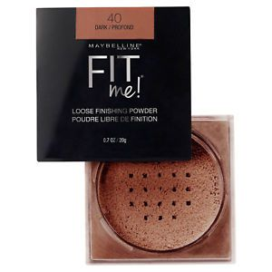 Maybelline Fit Me Loose Finishing Powder #40 Dark