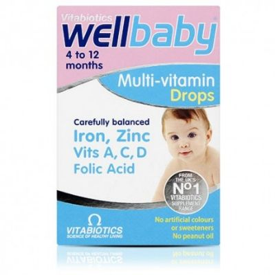 Well Baby Multi-vitamin Drops