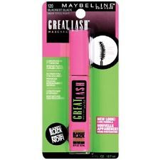 Maybelline Great Lash  Blackest Black Mascara #120