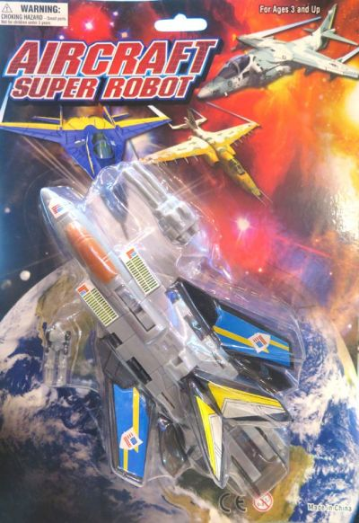 Aircraft Super Robot