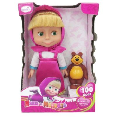 Masha  And The Bear Doll