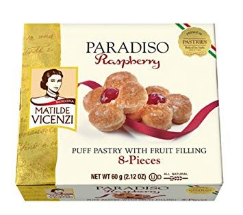 Paradiso Raspberry Fruit Filled Puff Pastry