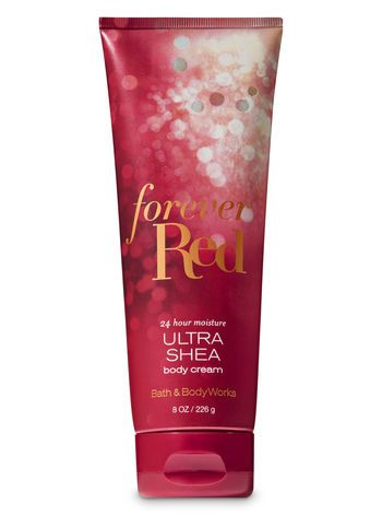 Bath & Body Works  Forever Red Body Cream