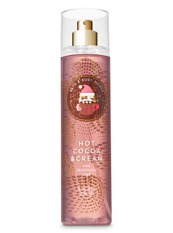 Bath & Body Works  Hot Cocoa & Cream  Body Mist