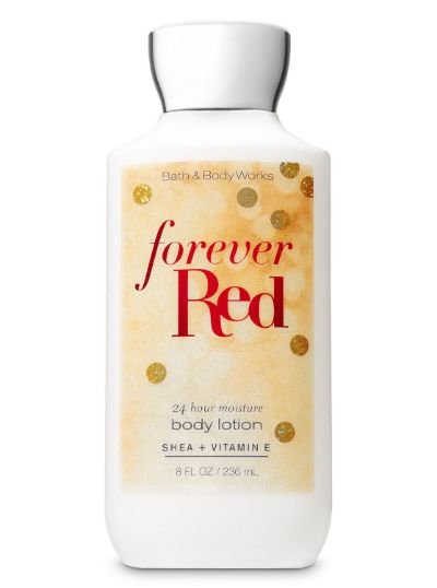 Bath & Body Works Forever Red  24 Hr Lotion