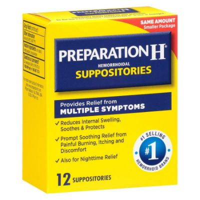 Preparation H Multisympton Suppositories