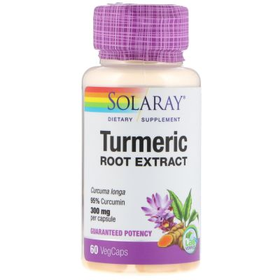 Solaray Turmeric Root Extract 300mg