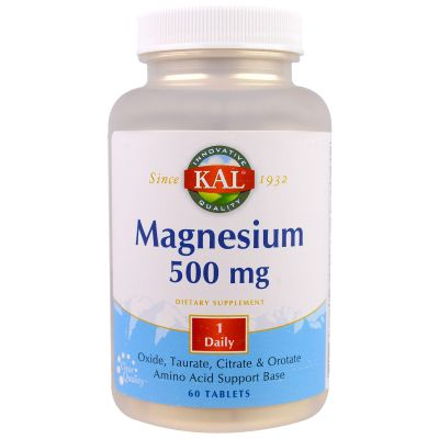 Kal Magnesium 500mg Tablets