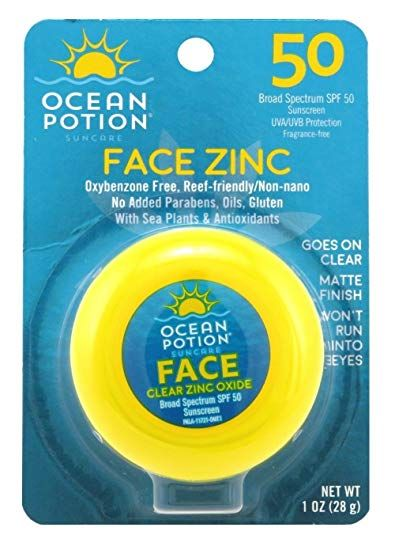 Ocean Potion  Face Zinc Spf 50 Sunscreen