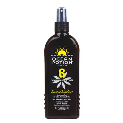 Ocean Potion Spf 8 Tanning Spray 251ml