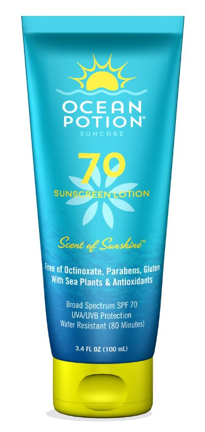 Ocean Potion Spf 70 Sunscreen Lotion 100ml
