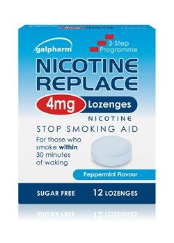 Nicotine Replacement 4mg Lozenges 12s