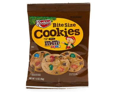 M&m Bite Size Cookies